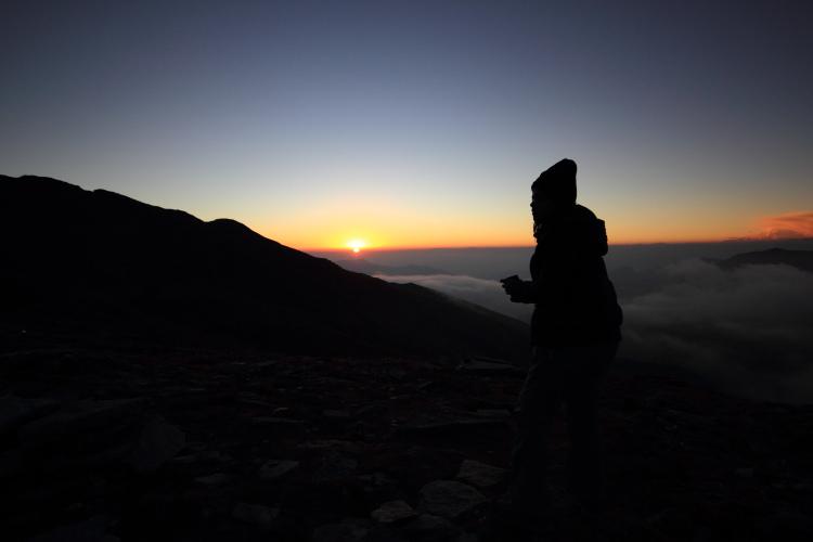 (Wo)man vs Wild: Bhagwabhasa Sunset