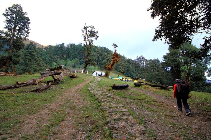 Ghaeroli Patal campsite