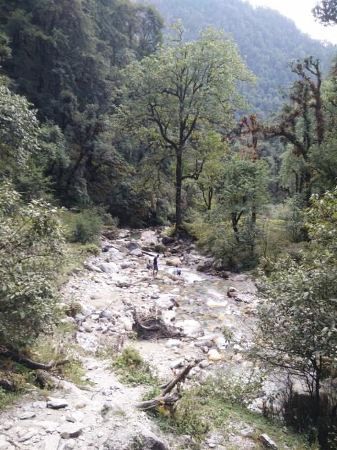 The bridge over by Neel Ganga river