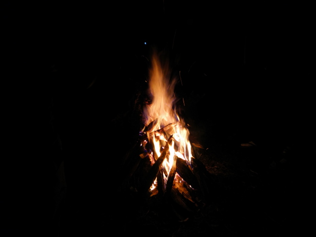 Bonfire at 10,500ft! (Ghaeroli Patal)