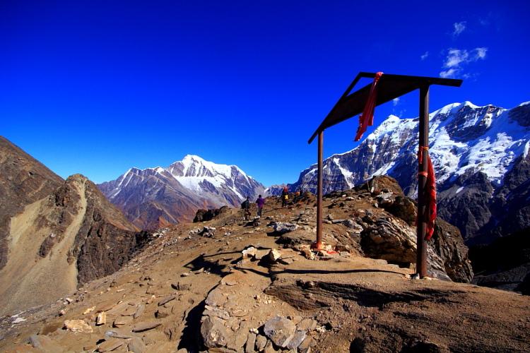 Junargali at 16,000 feet