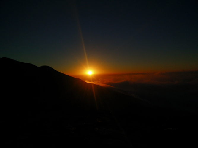 Sunset at Bhagwabhasa Camp of Roopkund Trek