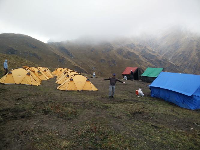Pathar Nachauni campsite