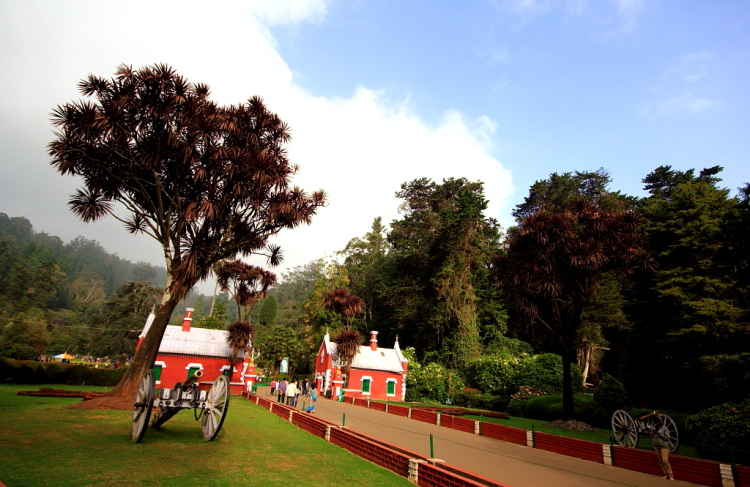 Entrance of Ooty Botanical Garden