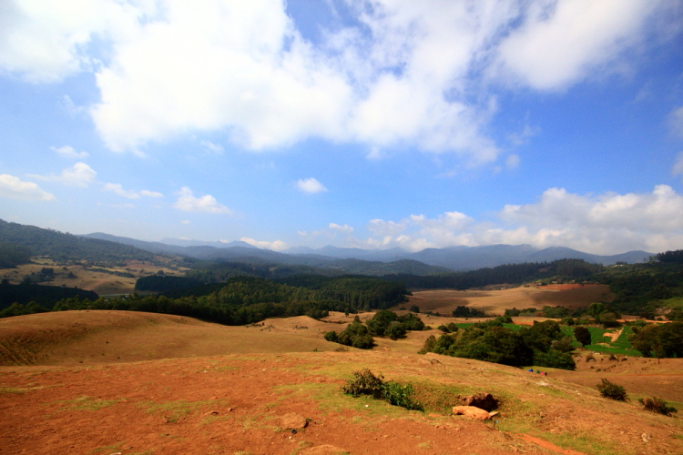 View from Shooting Point, Ooty