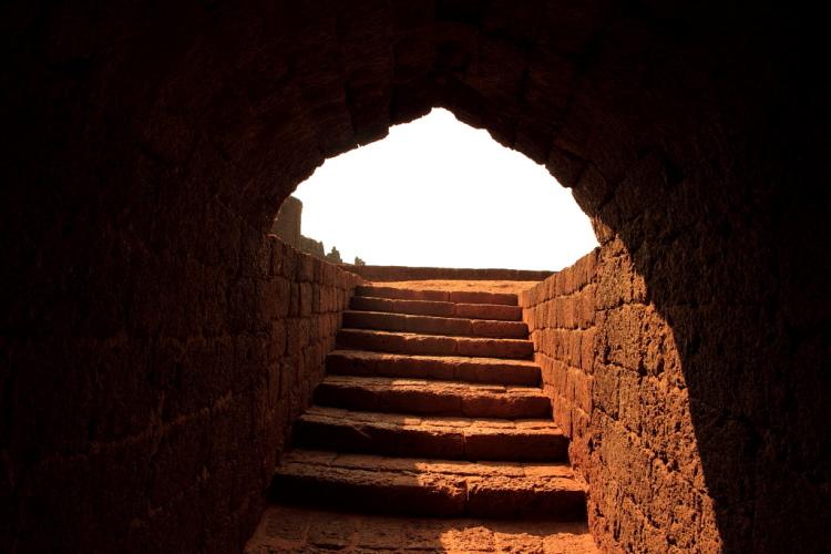 Mirjan Fort Stairs Gokarna