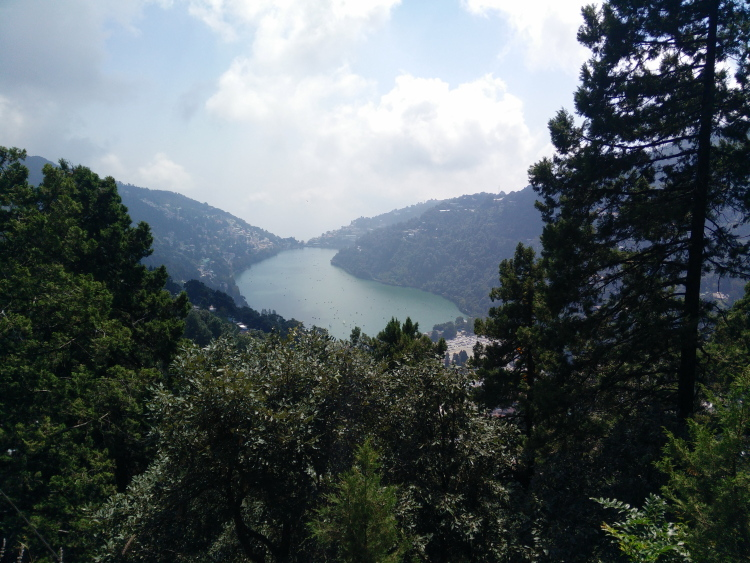 Naini Lake View from Naini Peak