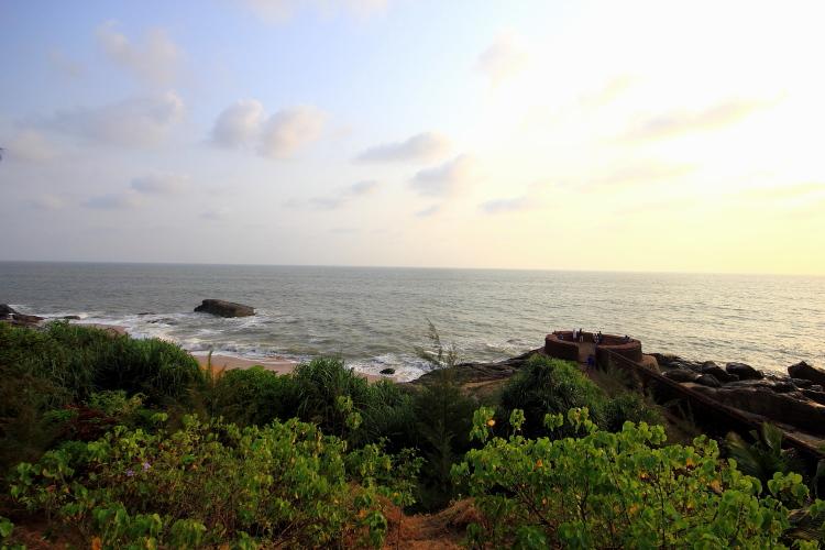 Bekal Fort View