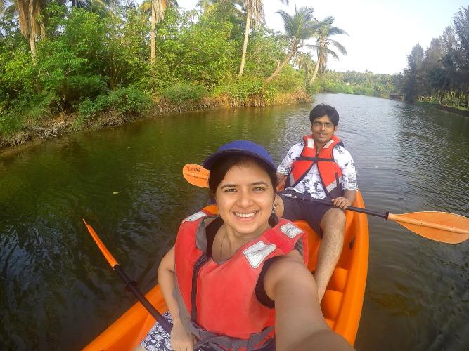 Kayaking At Vivanta By Taj Bekal