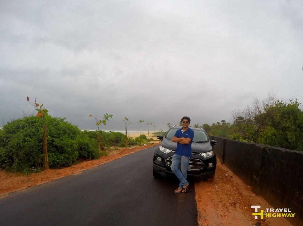 Beside Surathkal Beach Road