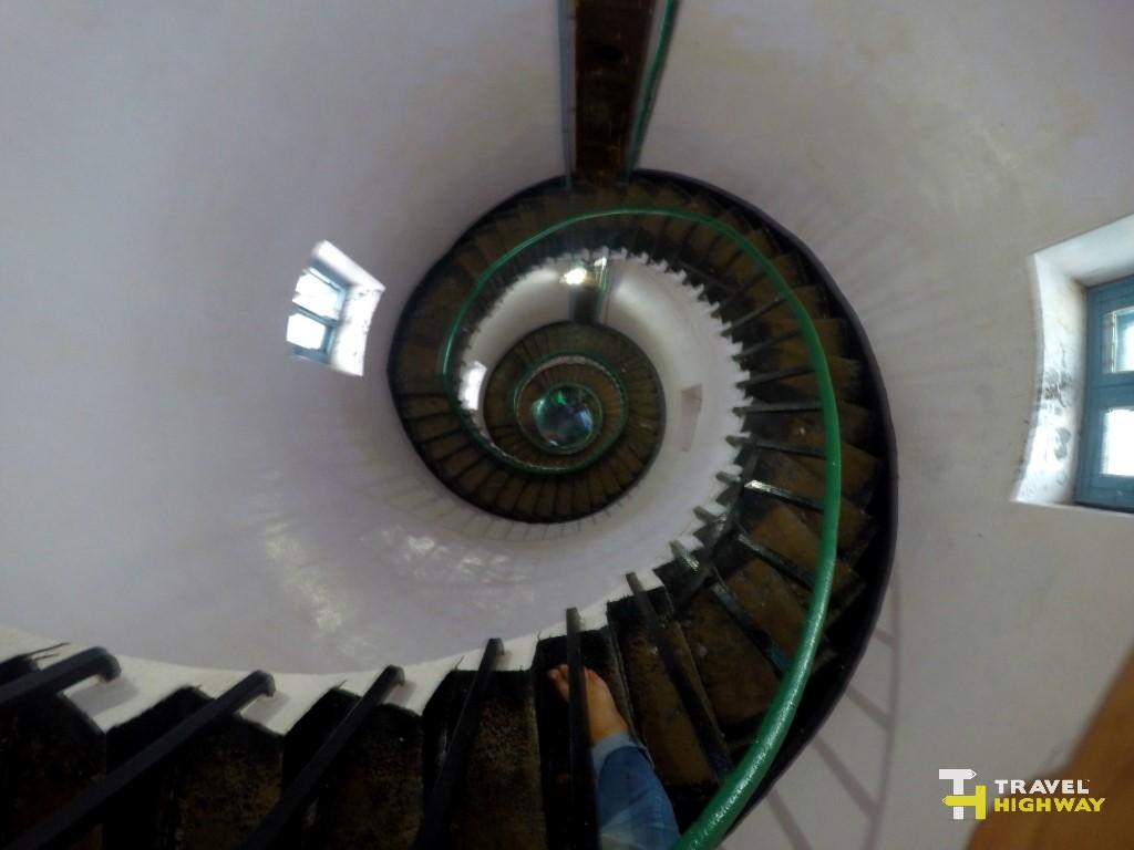 Kapu Lighthouse Stairs