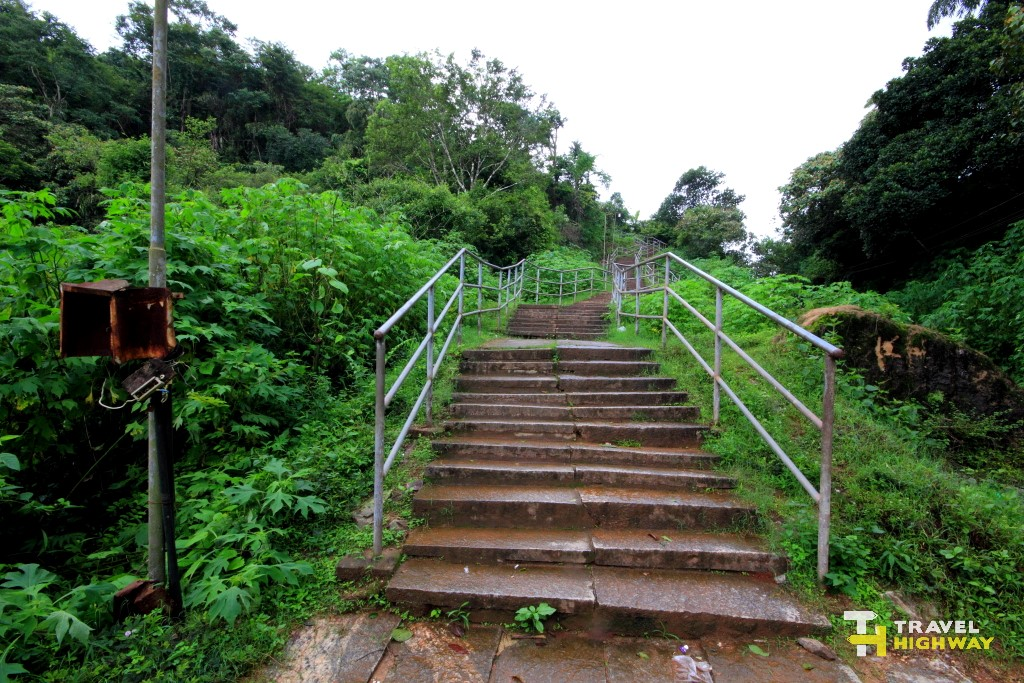 Manjarabad Fort Stairs