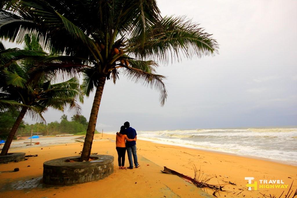 Us at Padubidri Beach