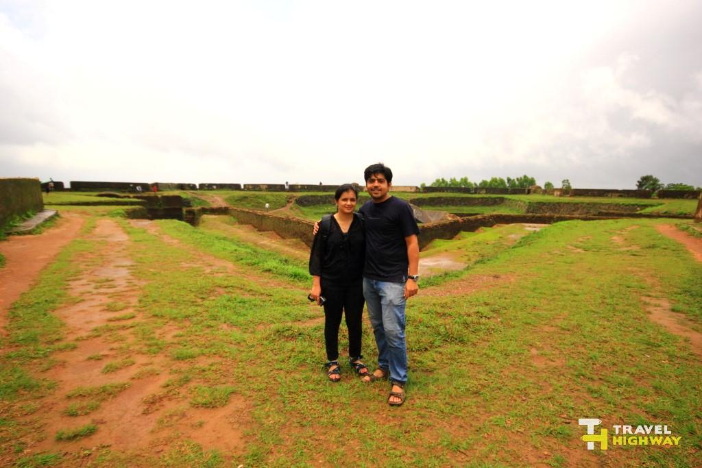 Us at Manjarabad fort