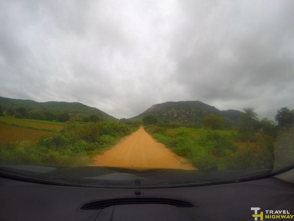 The drive to Makalidurga