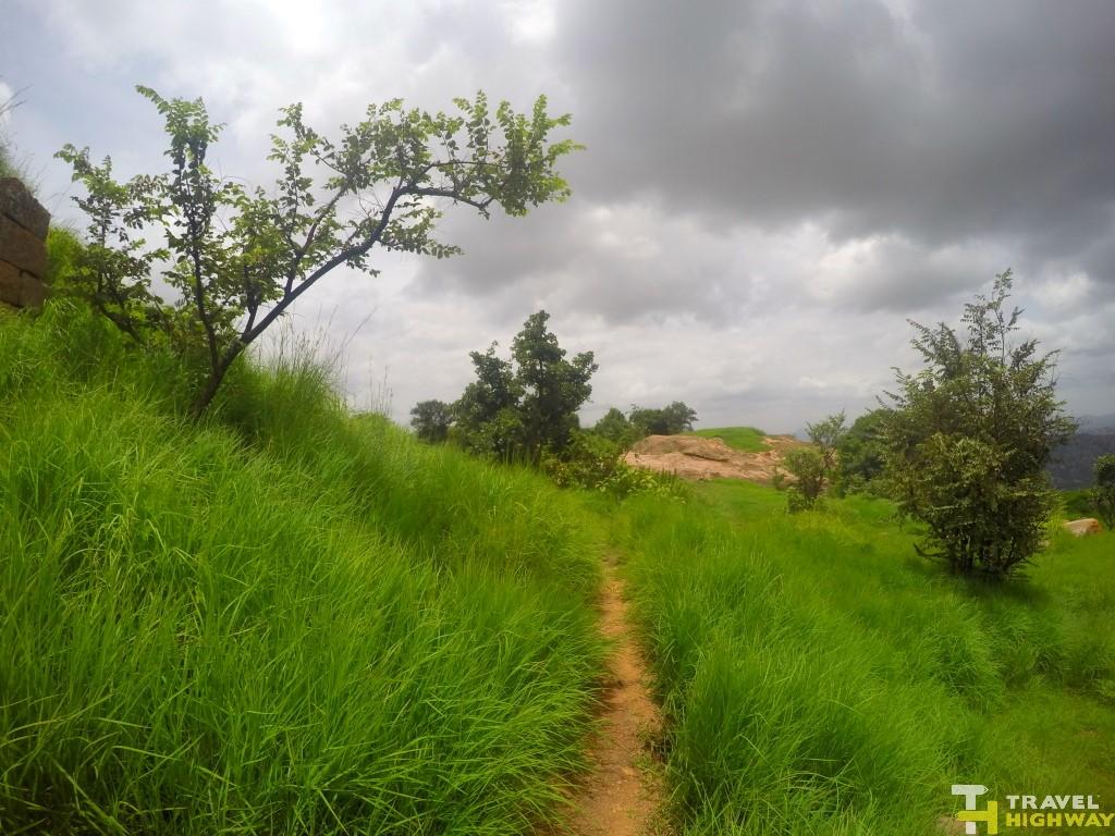 Makalidurga Trek Route