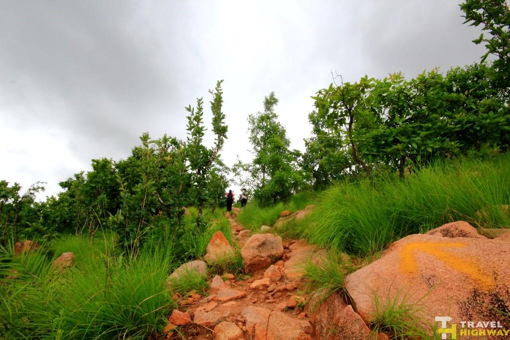 Trek Route Makalidurga