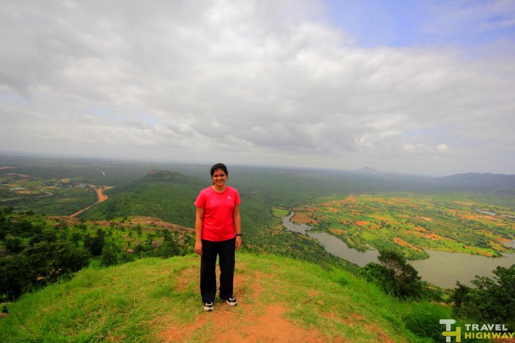 Top of Makalidurga