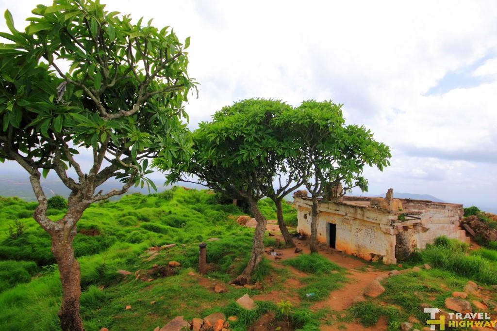 Temple at the top of Makalidurga