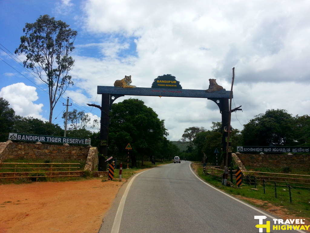 Bandipur Sanctuary Entrance