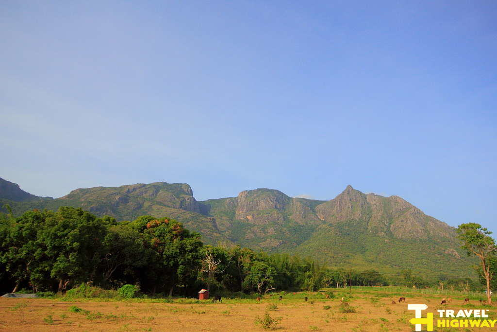 The mountains surrounding Masinagudi