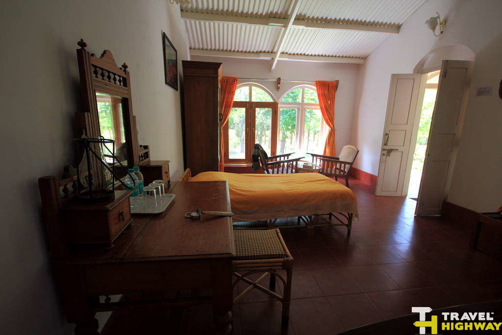 Our room at Jungle Retreat Masinagudi