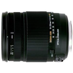 Sigma 18-250mm Lens