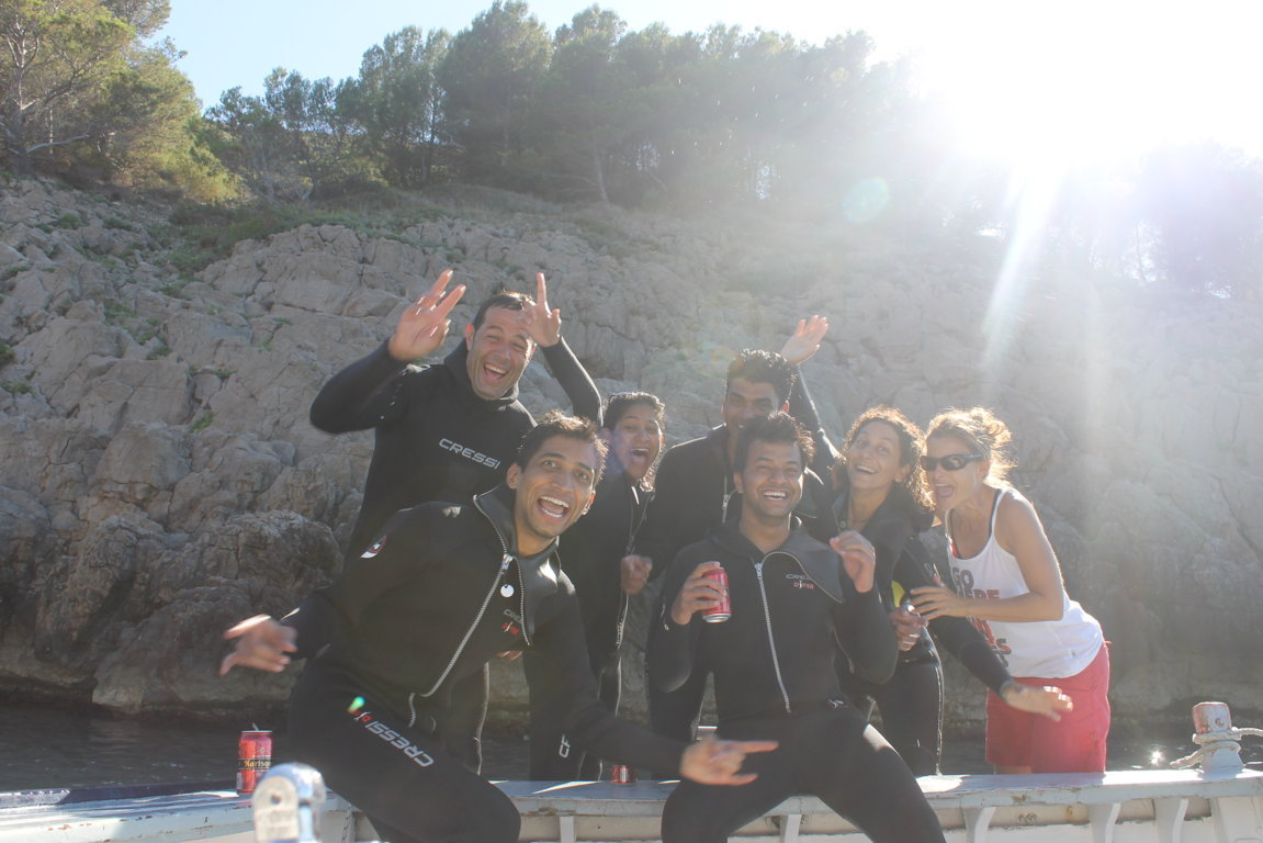 The Diving Team