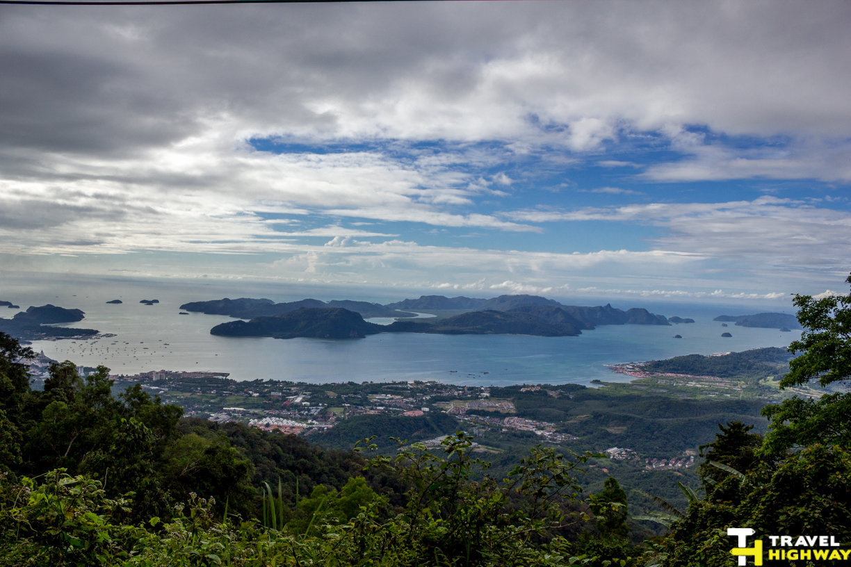 Panorama of Langkawi from Gunung Raya