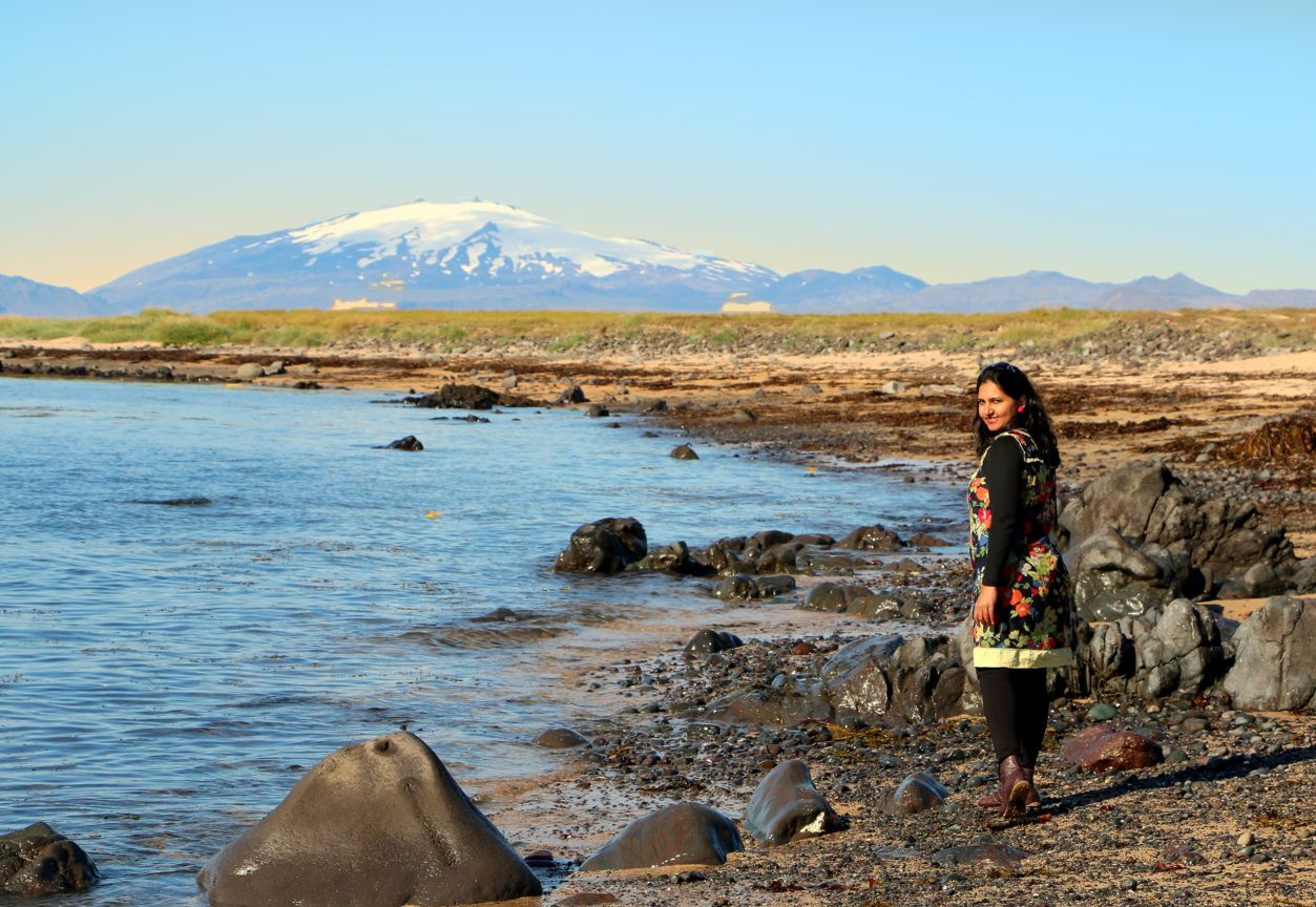 Snæfellsjökull Glacier, Snæfellsnes peninsula.