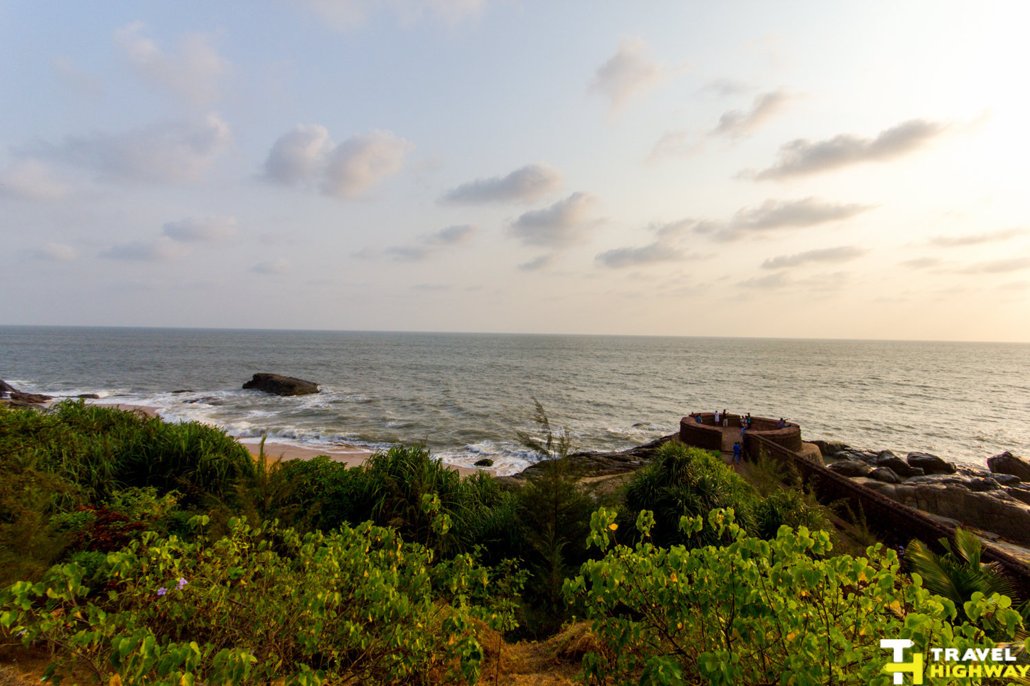Bekal road trip - View from Bekal Fort