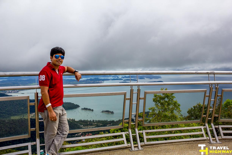 Top of Mt.Manchinchang Langkawi