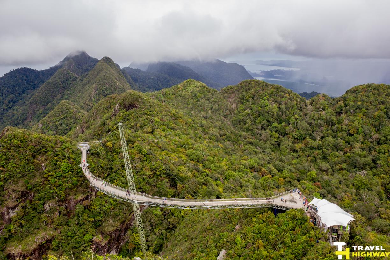 A SkyBridge at the top of Mt.Manchinchang