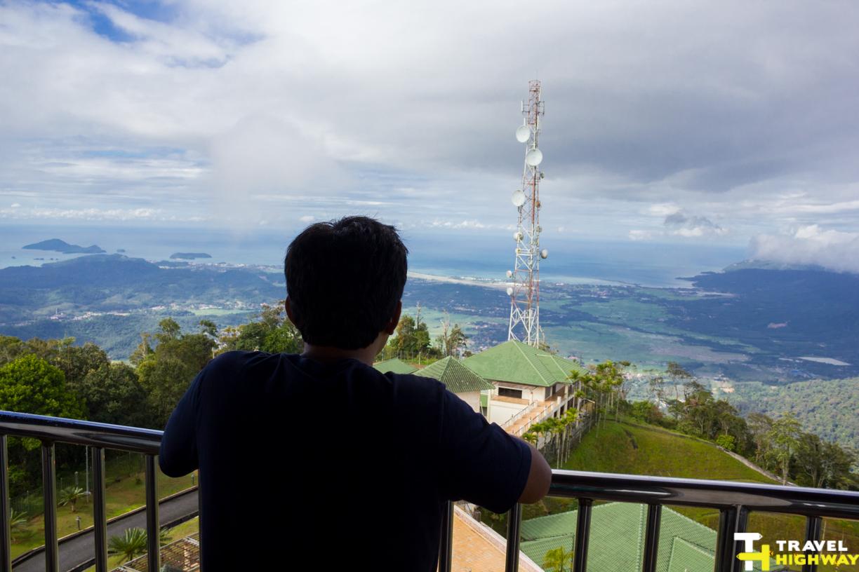Gunung Raya Watchtower View