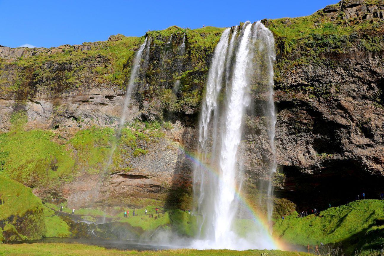 Seljalandsfoss waterfalls Iceland