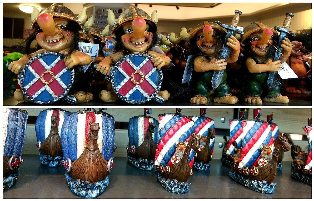 The Troll army Iceland Souvenir Shop