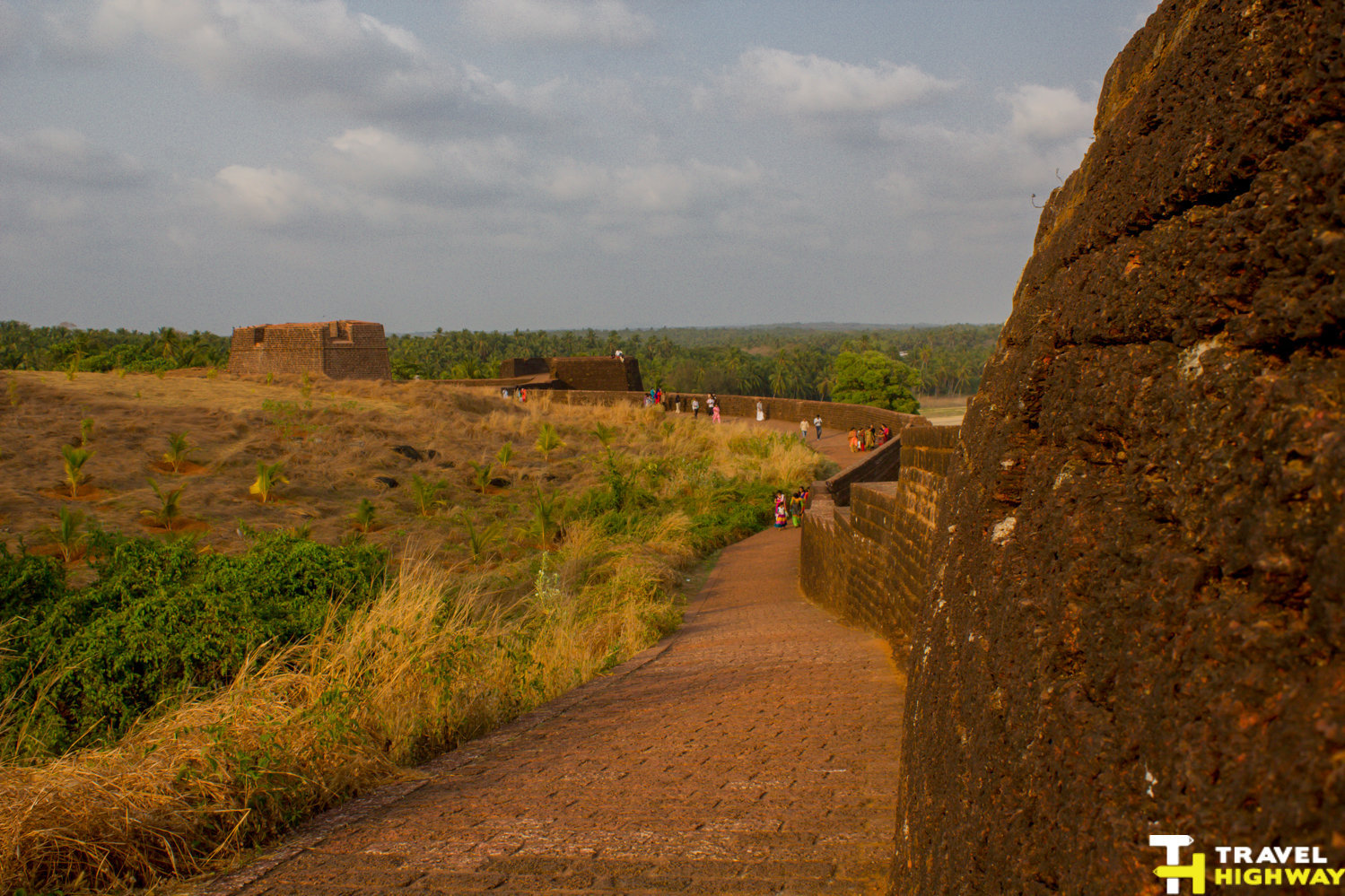 Walls of the Bekal fort