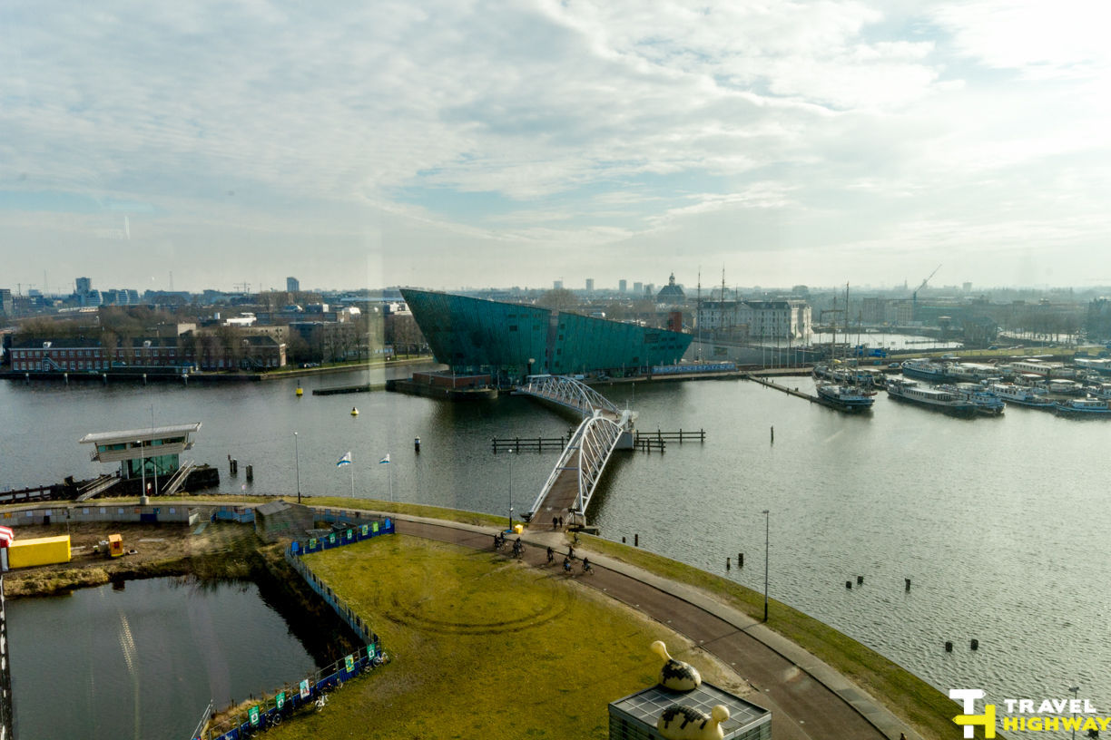 Nemo Science Museum from the Top of Amsterdam Library