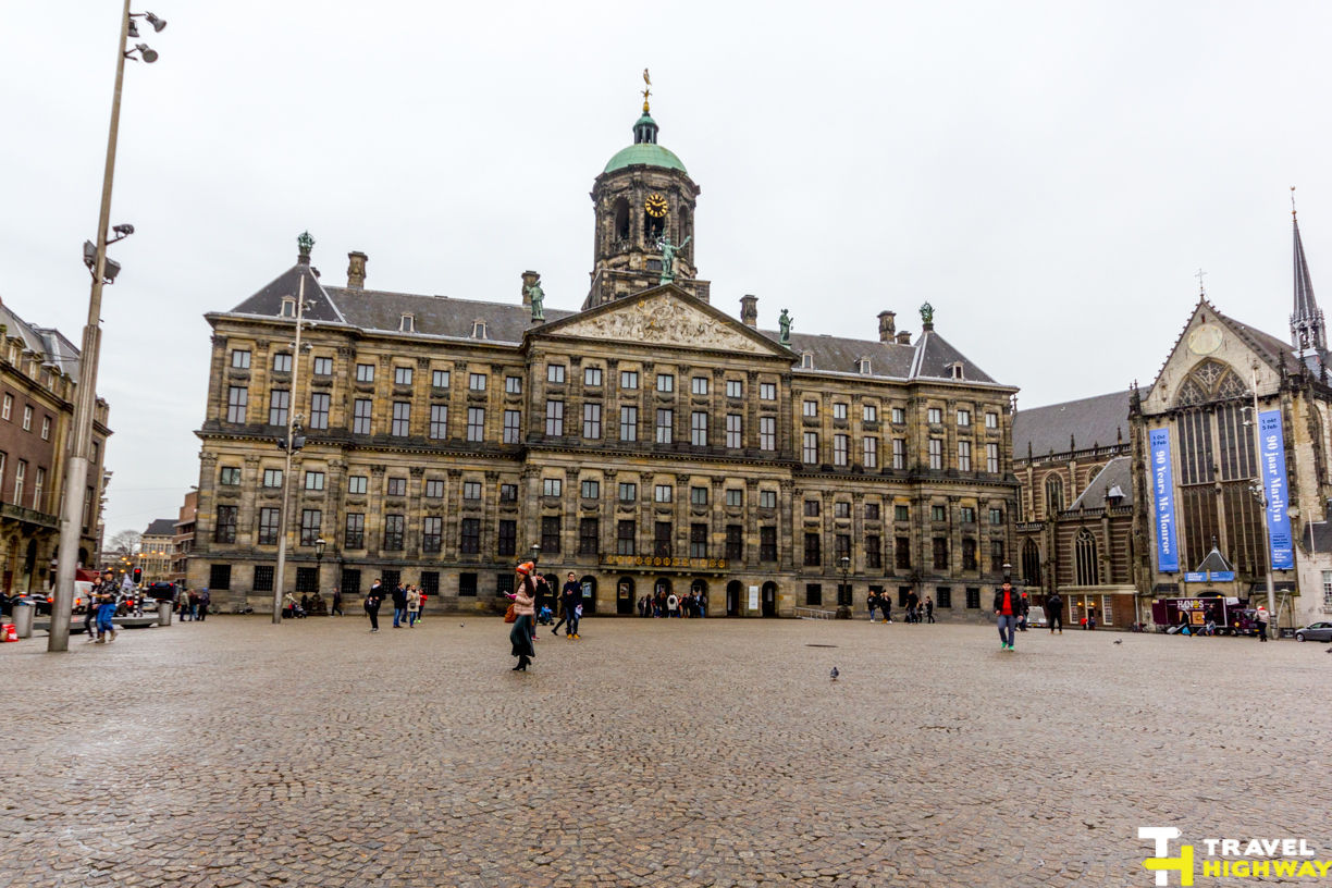 Royal Palace Amsterdam Dam Square