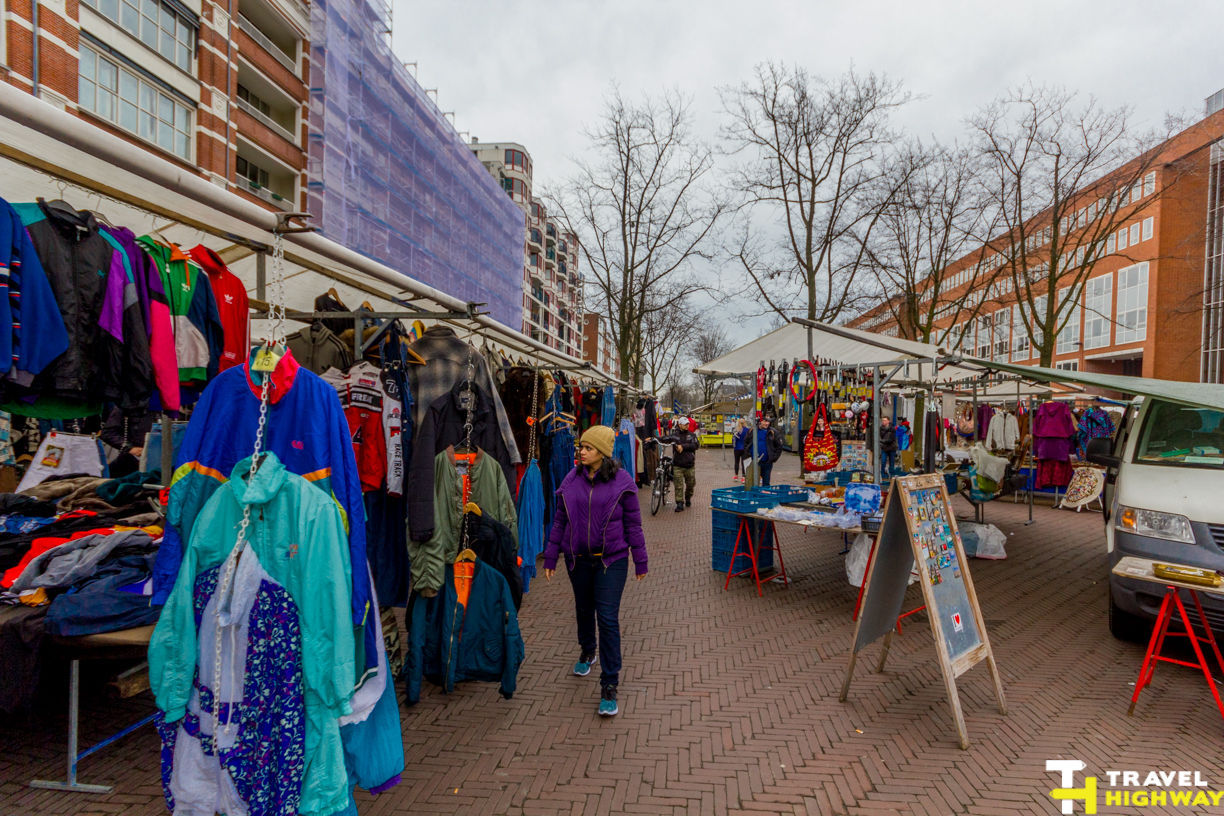 Waterlooplein Flea Market Amsterdam