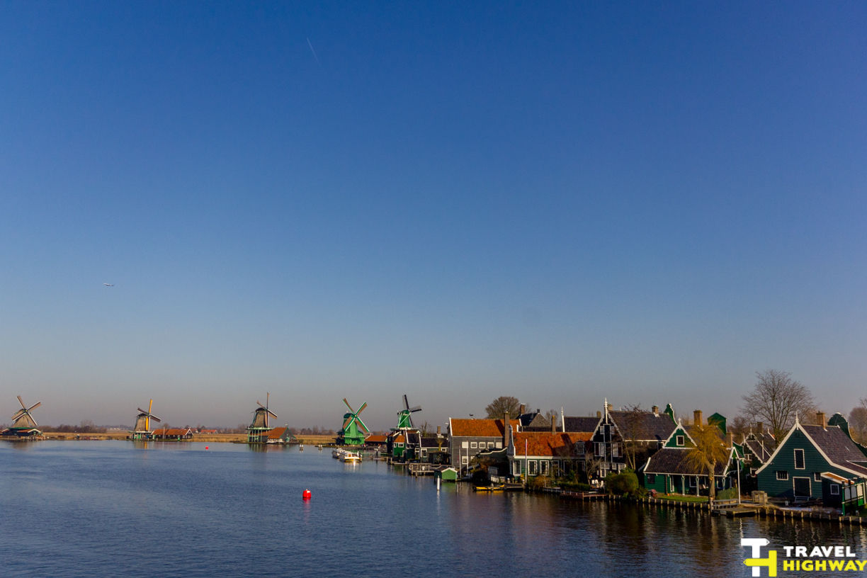 Zaanse Schans Windmill Village