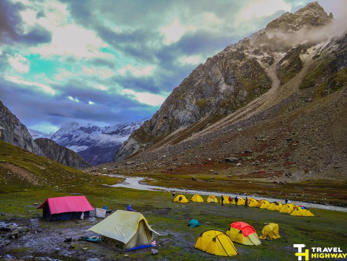Hampta pass Himalayas 2017