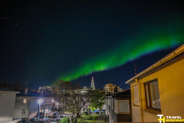 Northern Lights Reykjavik Iceland 2017
